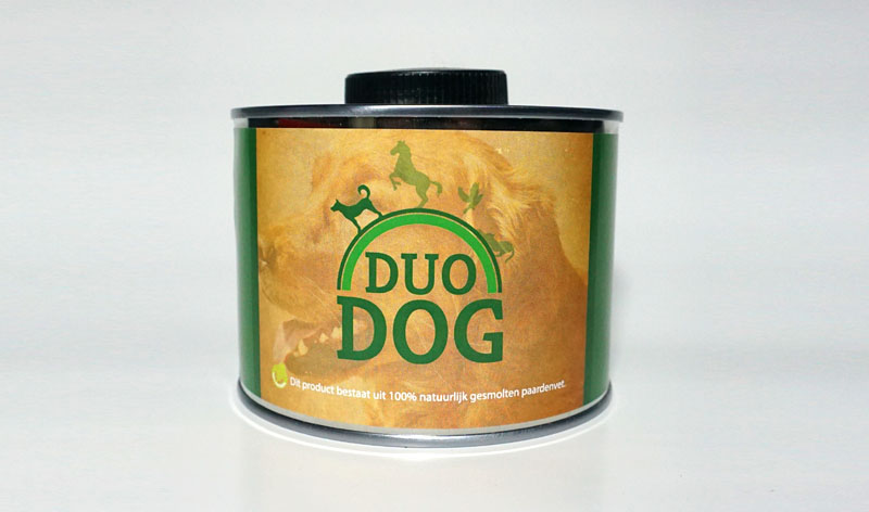 Duo Dog Pferdefett 500ml