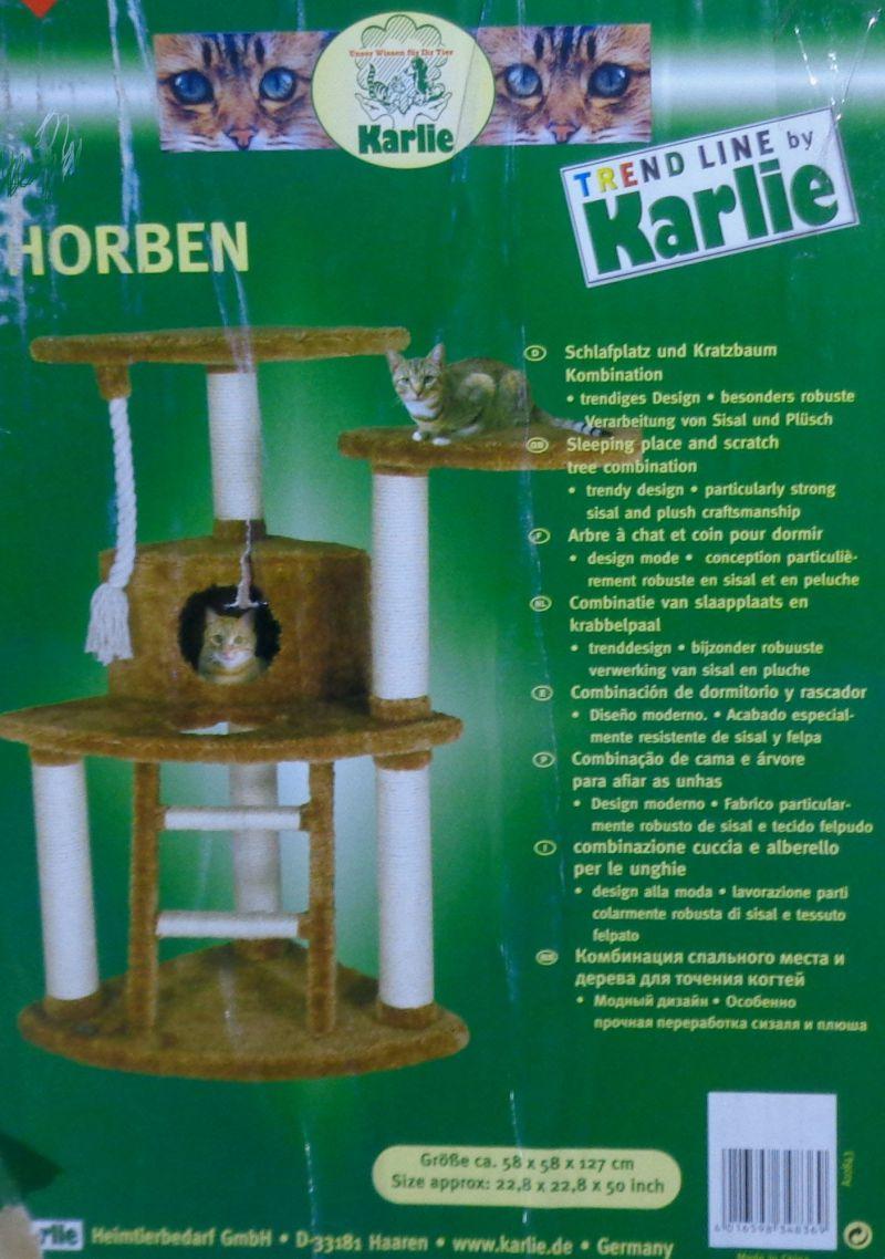 Karlie Eckkratzbaum Thorben