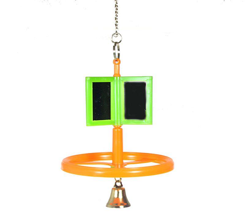 Vogel Sitzkarusell mit Glocke