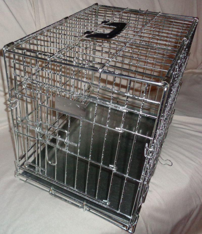 Faltbare Hundekäfig-Transportbox XXS
