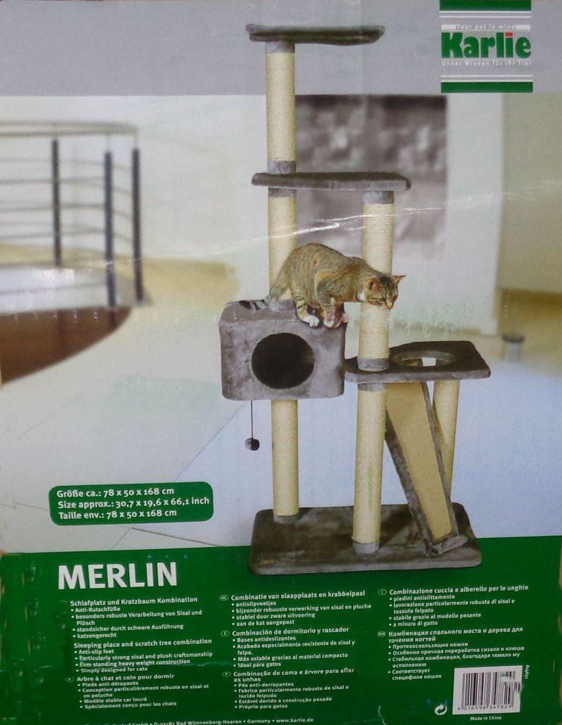 Karlie Kratzbaum Merlin Grau
