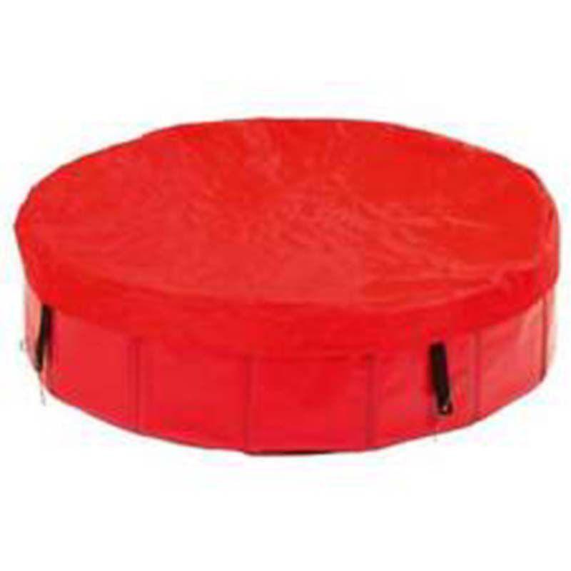 Abdeckung für den DOGGY POOL in Rot