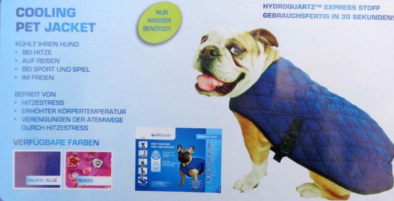 Aqua Cooling Pet Jacket Kühlweste für Hunde