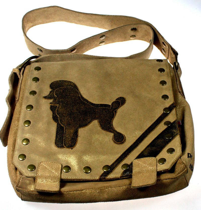Poodlebag Umhängetasche Wednesday Gold