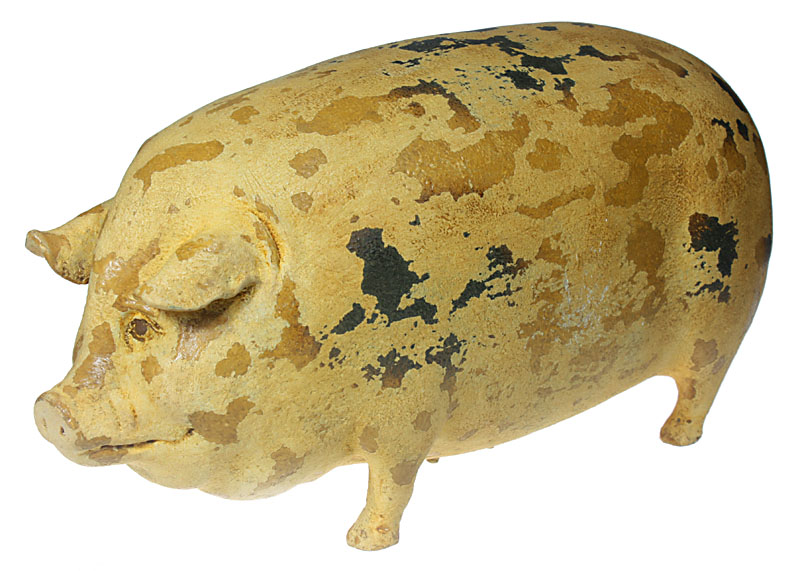 Deko Figur Glücksschwein