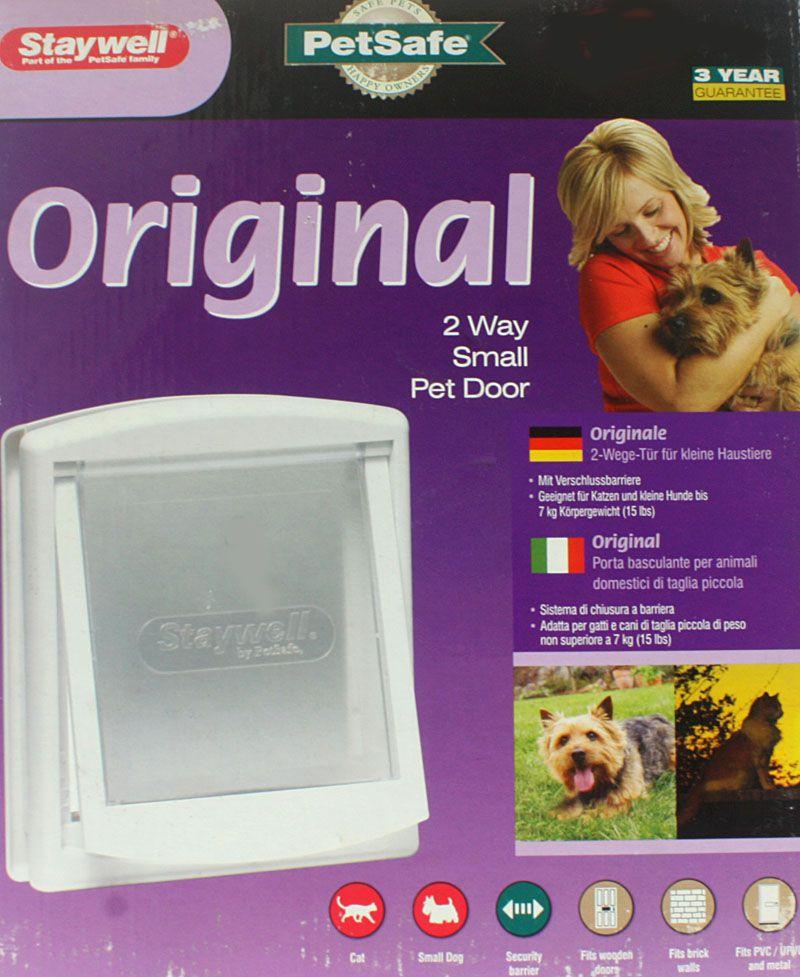 2-Wege-Staywell Haustiertür Original bis 18 kg