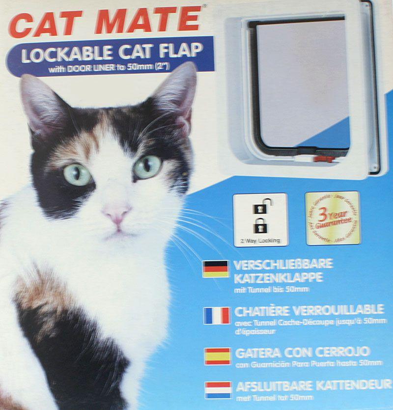 CAT MATE Katzenklappe mit Magnetverschluß