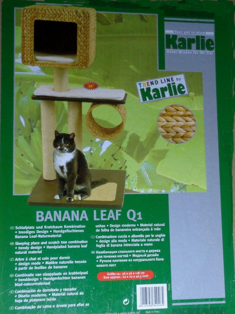 Karlie Kratzbaum Banana Leaf & Wood Q1
