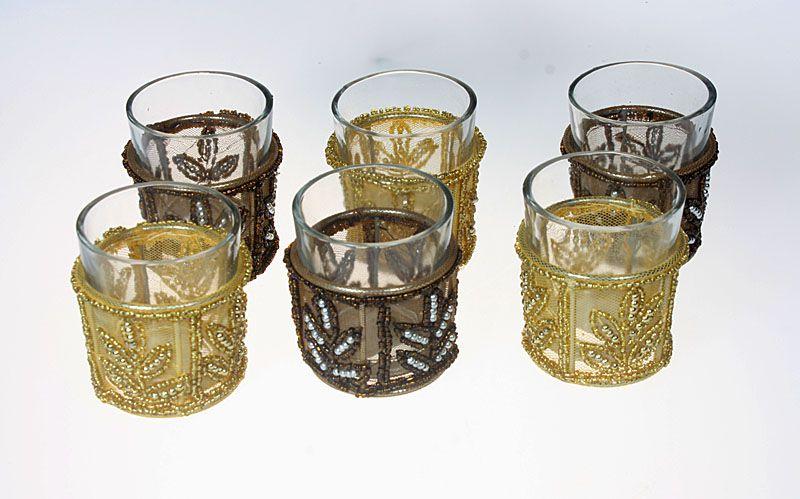 Orientalische Teelicht-Gläser