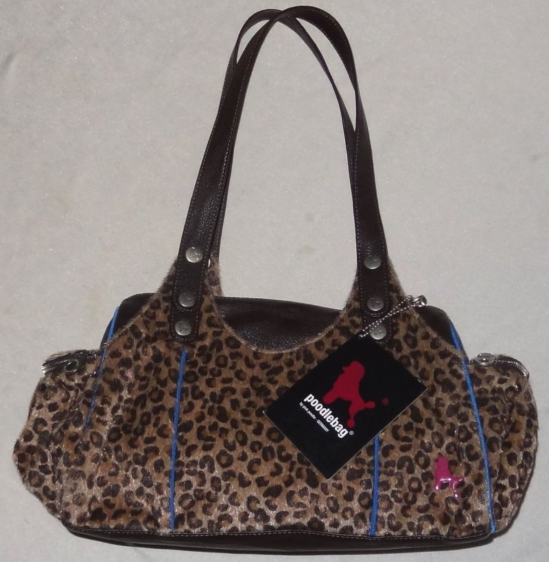 Poodlebag Schultertasche Funkyline Jungle Friday choco