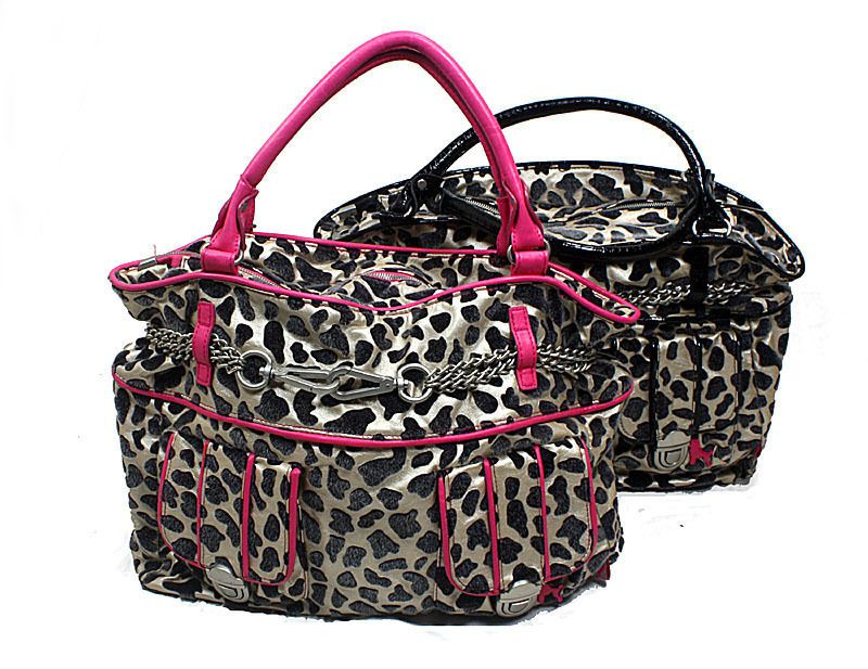 Poodlebag Henkeltasche Funkyline LEO TUESDAY black