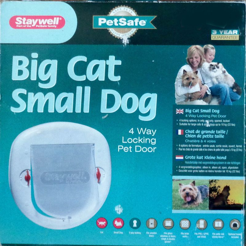 Staywell Big Cat Small Dog Katzenklappe